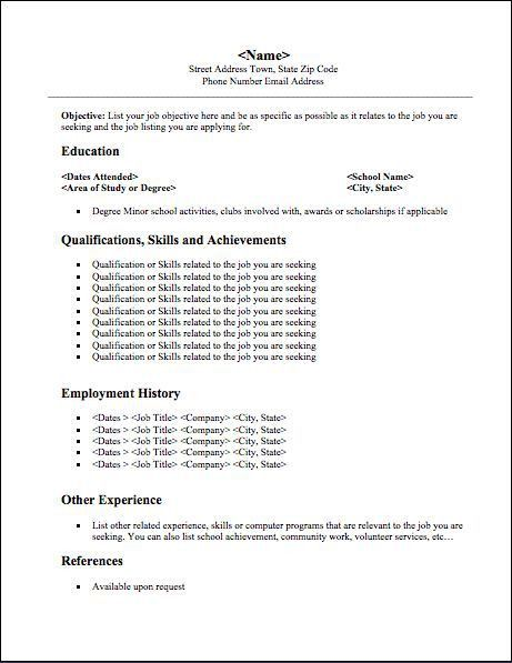 The 25+ best Student resume ideas on Pinterest | Resume help ...
