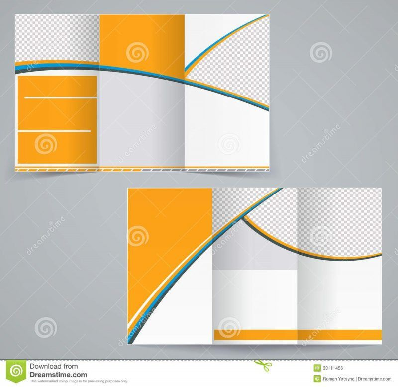 Blank Brochure Templates For Microsoft Word | Professional Templates