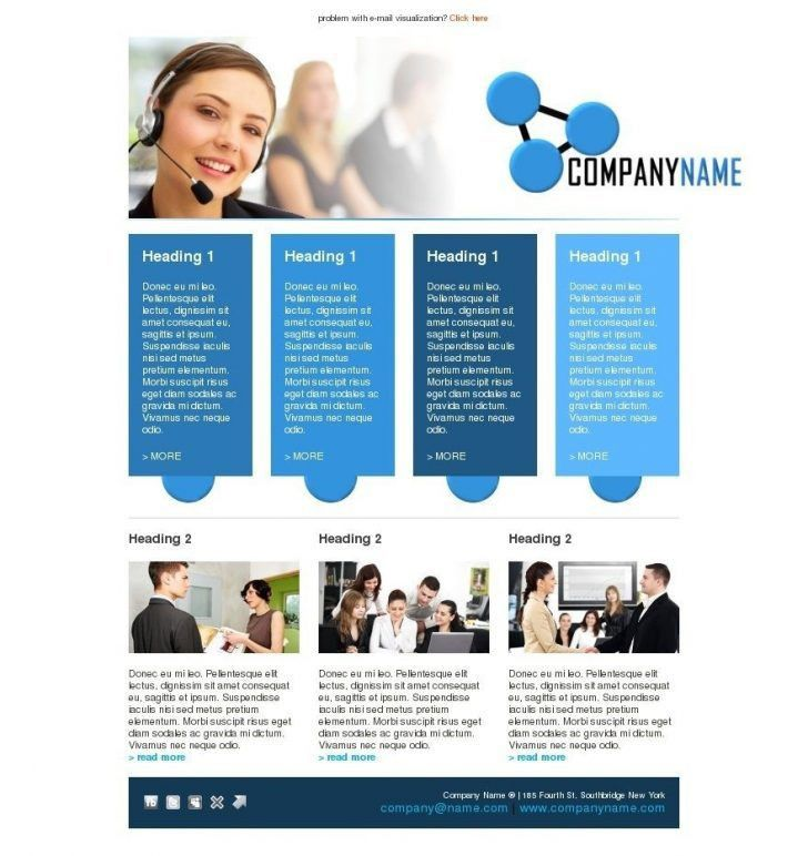 Inspirational Newsletter Templates Word Free | pikpaknews