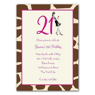 21st Invitation Templates Free - Ecordura.com