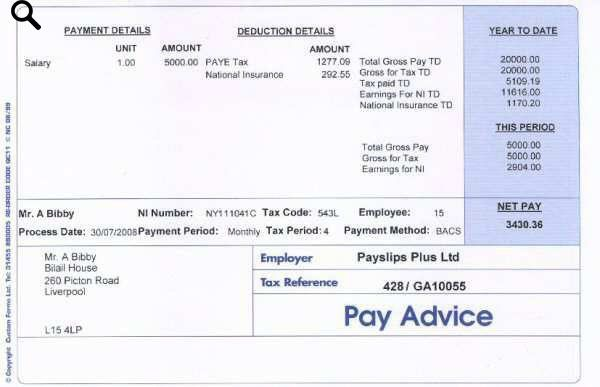 Plus QC11 Payslips - Payslips Plus