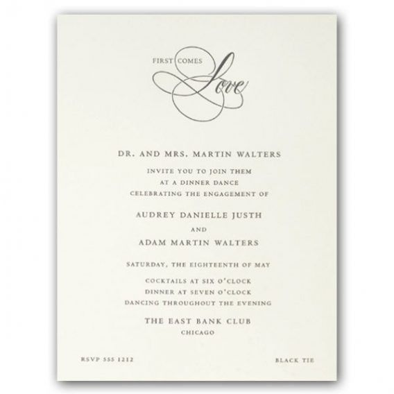 White Party Invitation Wording | cimvitation