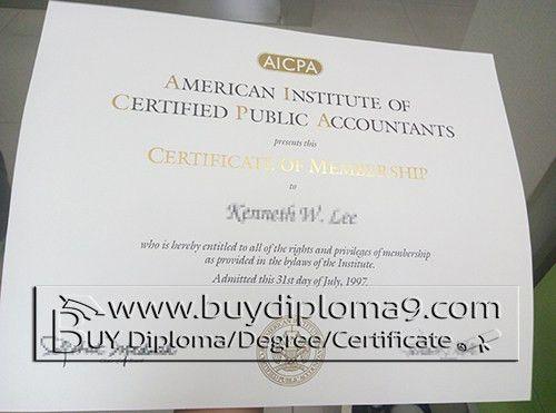 AICPA certificate, Buy diploma, buy college diploma,buy university ...
