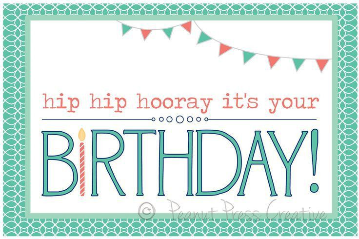 Birthday Printable Cards - Aldeiadevelopment.com