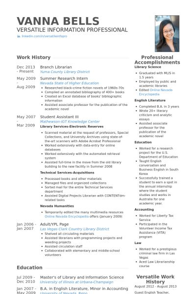 Research Intern Resume samples - VisualCV resume samples database