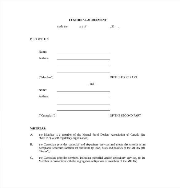 best resume for you letter child support agreement template free ...