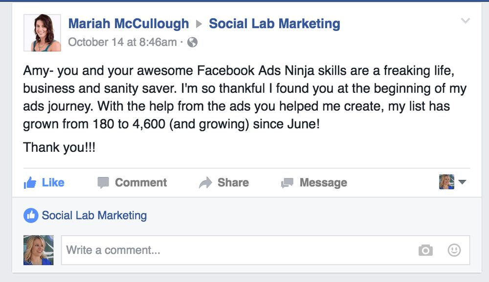 FB Ad Template Sign UP — Social Lab Marketing