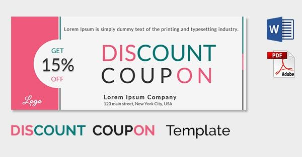 Christmas Voucher Template. Set Of Christmas Coupon Template ...