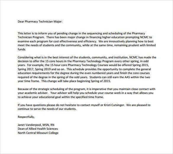 Cover Letter: 45 Pharmacy Technician Letters Pharmacy Technician ...