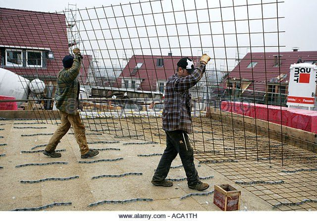 Rebar Reinforcing Steel Construction Site Stock Photos & Rebar ...