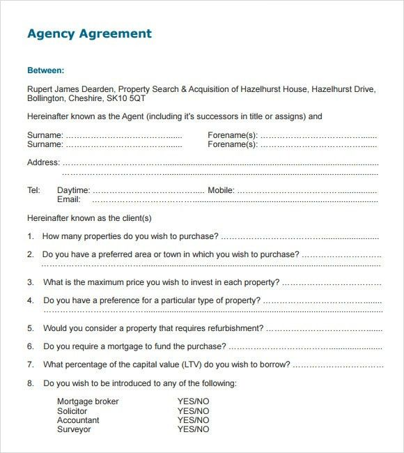 Agency Contract Template. No Bullshit Graphic Design Client ...