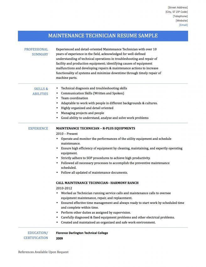 warehouse technician resume 9 warehouse technician resume sample