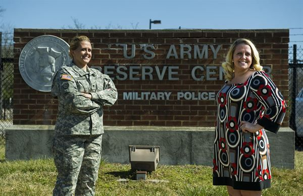 Twice the woman: Women serve as civilians, Soldiers in Army ...