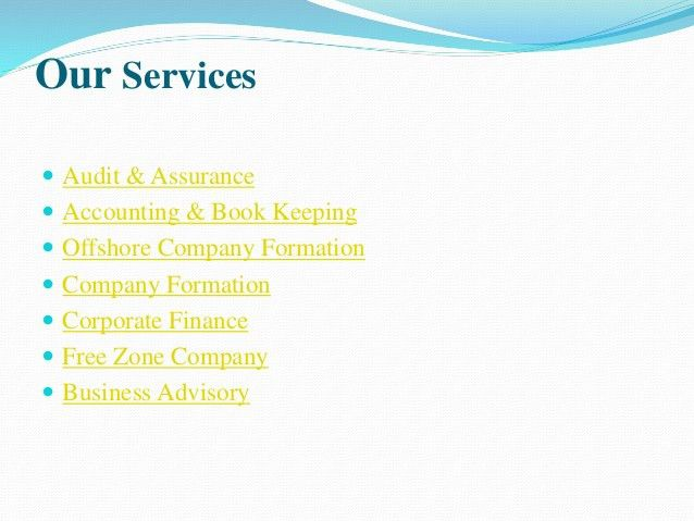 Nam Accountant is a UAE based company mainly providing accounting, au…