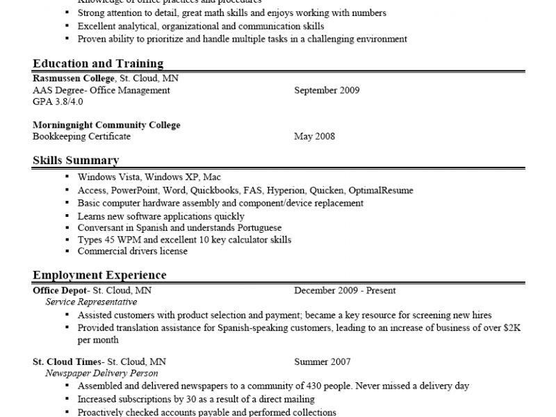 Luxury Idea Excellent Resumes 9 Examples Of Resumes Good It Resume ...