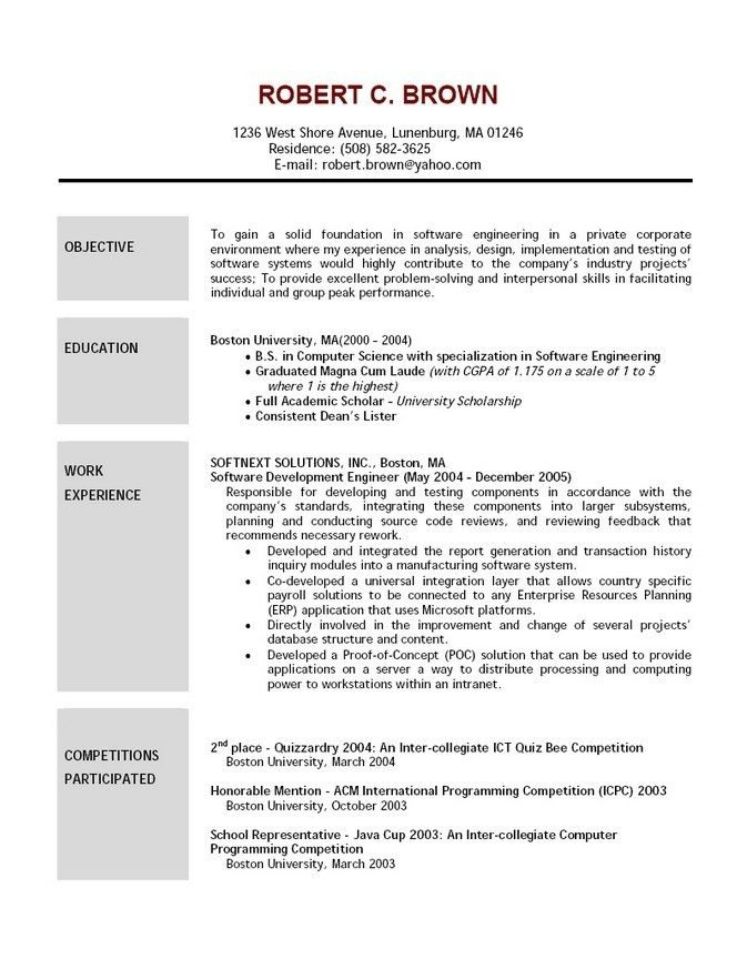 Resume Samples For Estheticians. esthetics resume free resume ...
