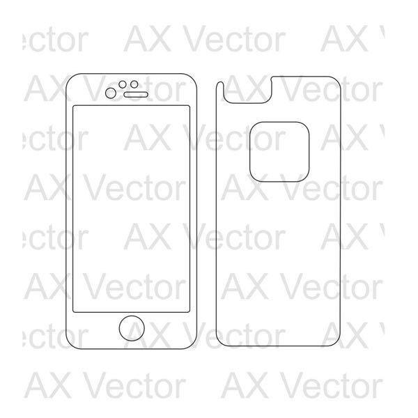 Lifeproof Fre iPhone 6 Vector Template