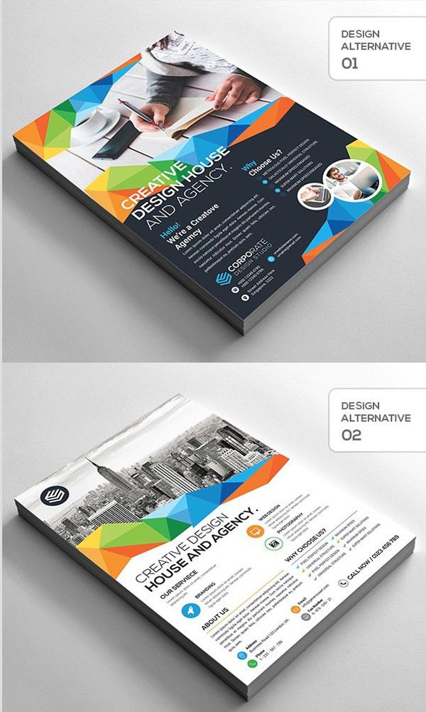 25 Professional Corporate Flyer Templates | Design | Graphic ...