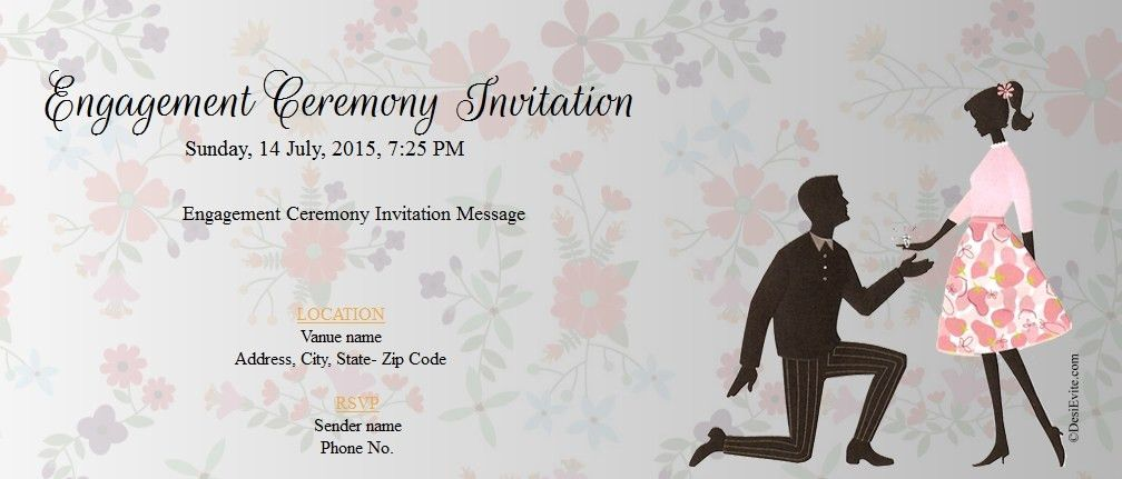 Hindu Engagement Invitation Cards | futureclim.info
