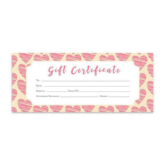 The 25+ best Blank gift certificate ideas on Pinterest | Free gift ...
