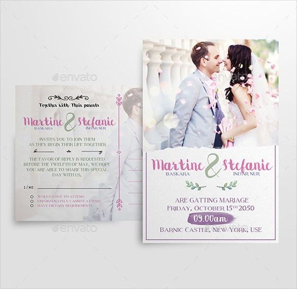 17+ Modern Wedding Invitation Templates – Free Sample, Example ...