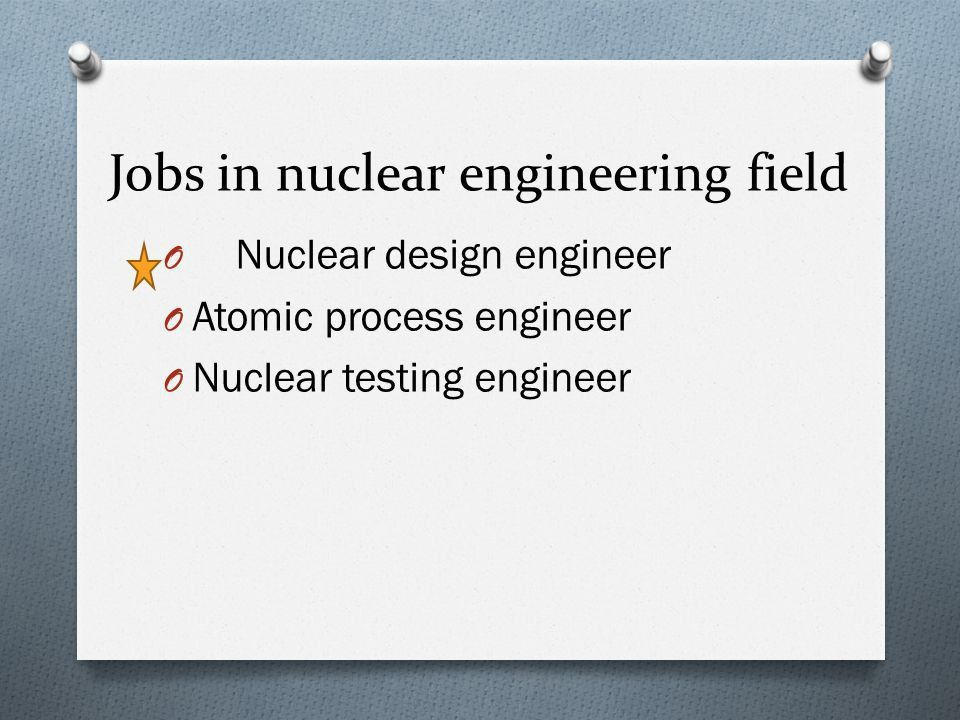 Nuclear Engineer Job Description - The Best Engine In 2017