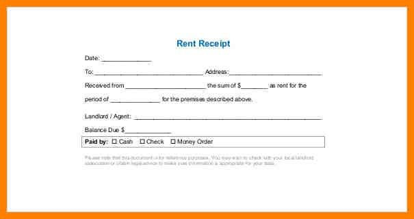 8+ rent receipt pdf | portfolio covers