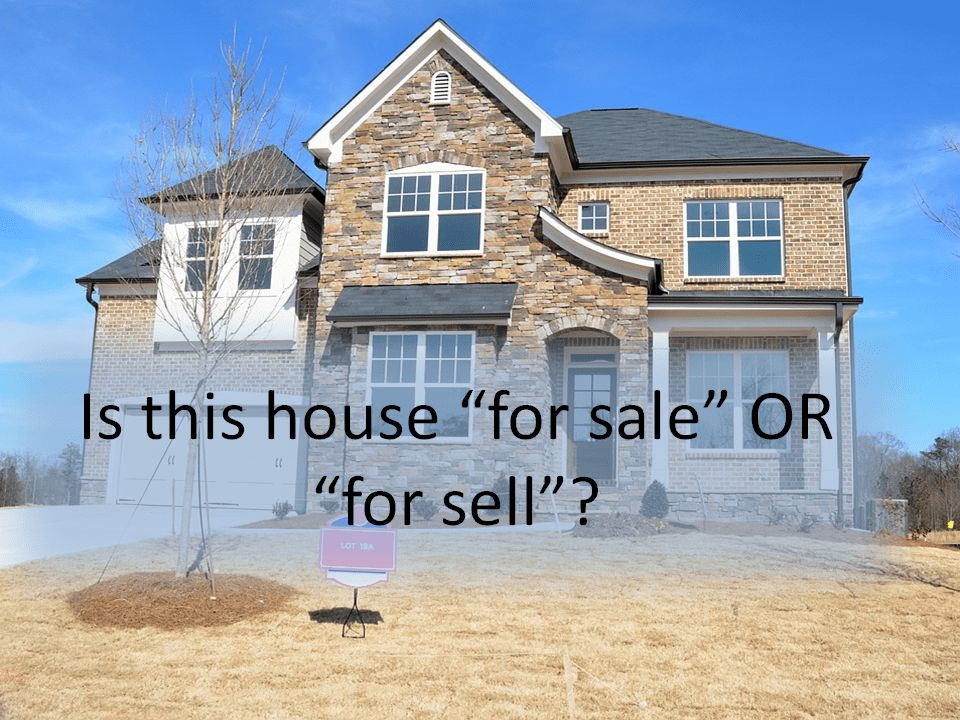 Tip #248: Sell Vs. Sale