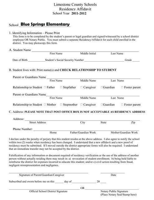 Blue Springs Elementary School