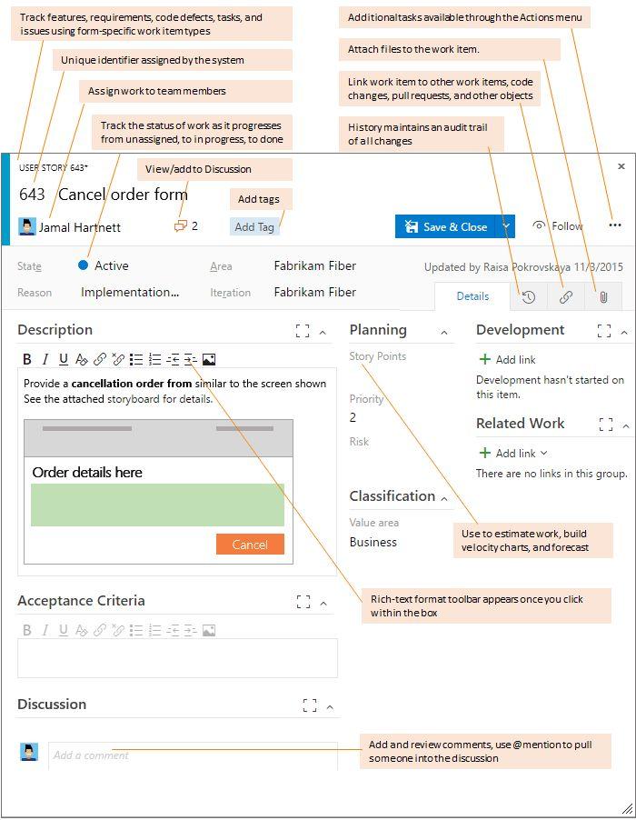 Agile process workflow | Microsoft Docs