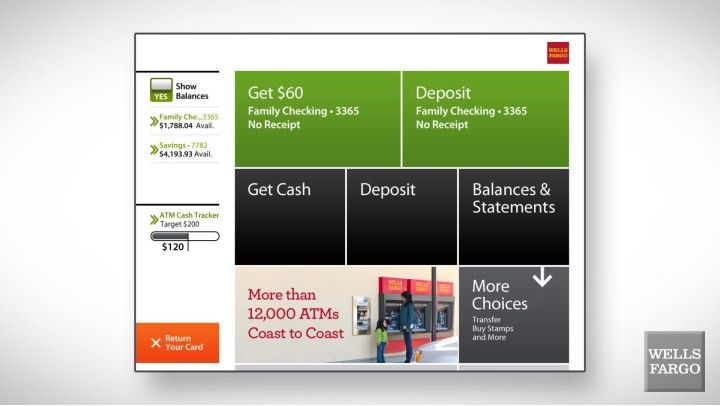 ATM Banking - ATM Tour - Wells Fargo
