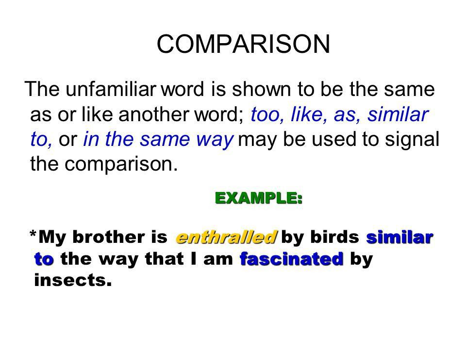 How Do You Guess The Meaning Of An Unfamiliar Word? There are ...