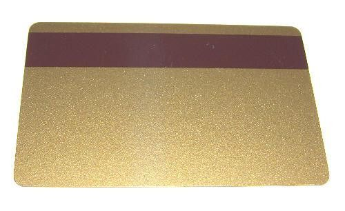 Gold 2-Track HiCo PVC (100pcs)