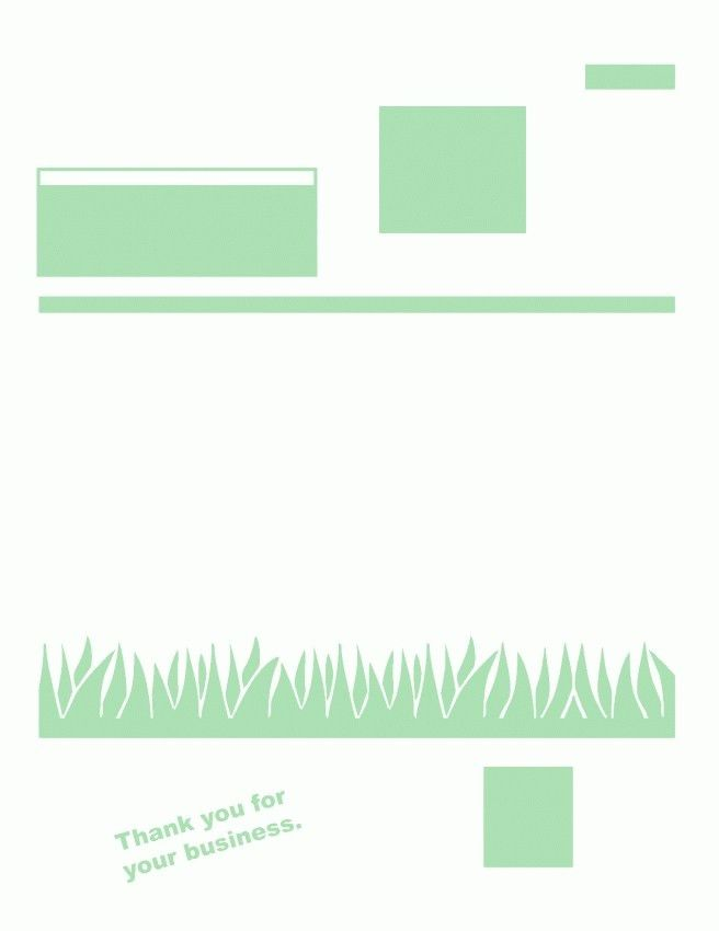 Lawn Mowing Invoice Template Free   Design Invoice Template