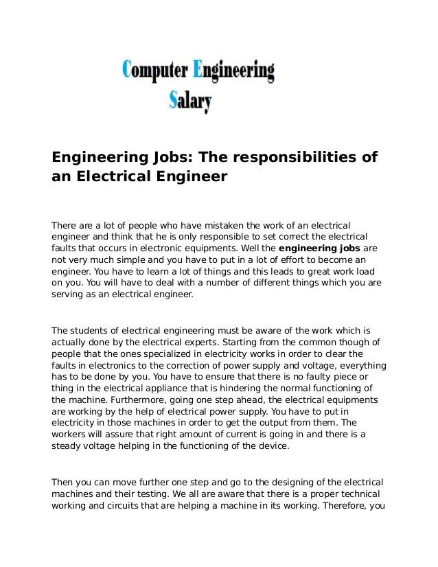 brilliant summary and experienced civil engineer responsibilities ...