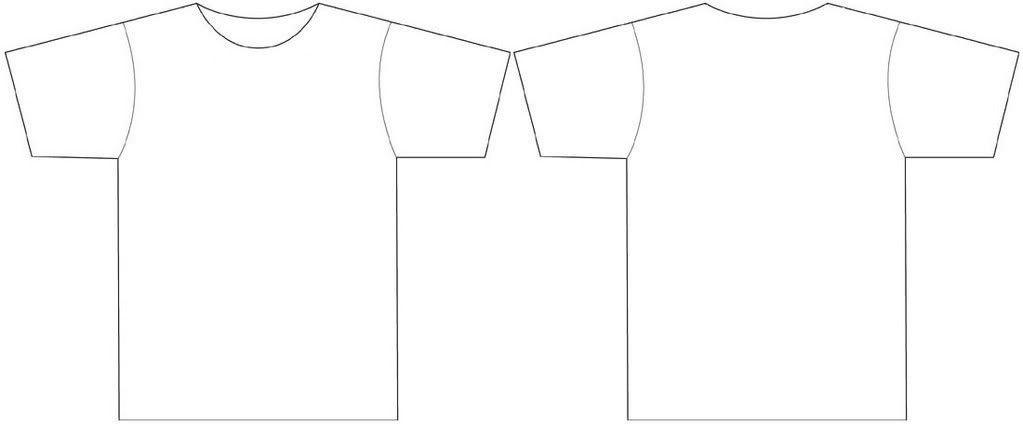 Blank t Shirt Template Clip Art (59+)