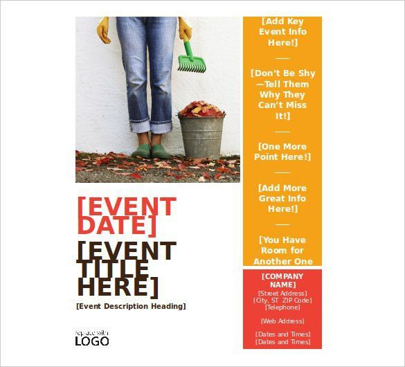 Free Event Flyer Templates Word | Best Template Examples