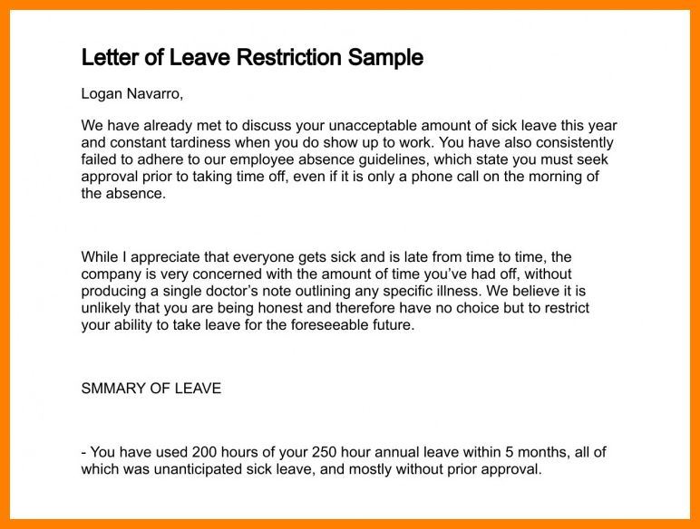 3+ sample letter of annual leave | lease template