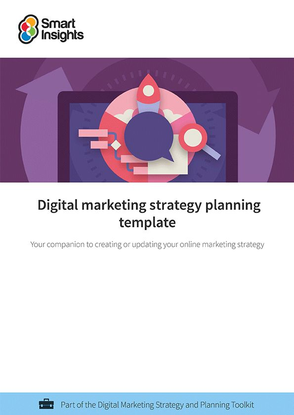 Digital marketing plan example | Smart Insights
