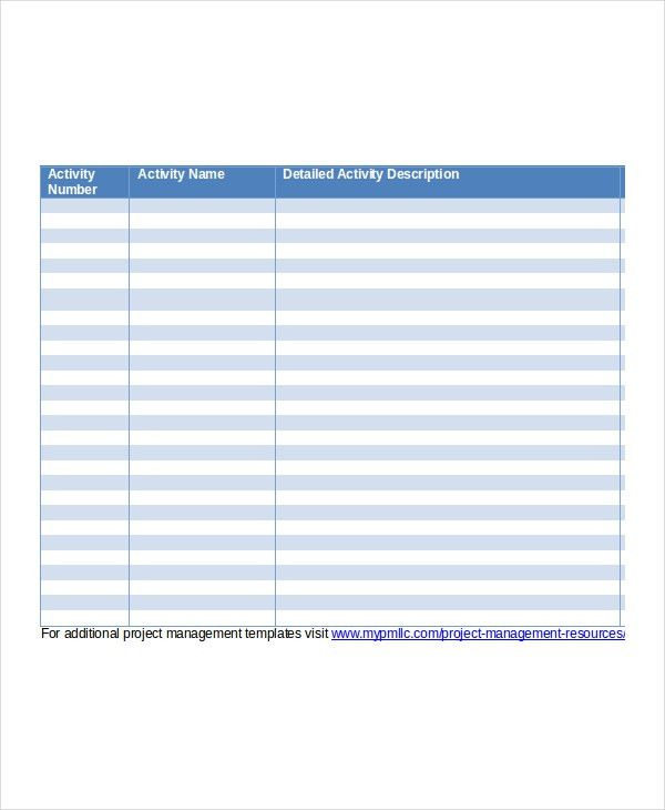 Client List Template - 6+ Free Word, PDF Documents Download | Free ...