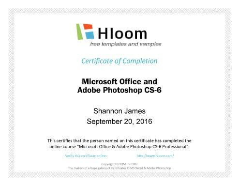 Microsoft office certificate templates certificates officecom 7 certificates of completion templates free download yadclub Image collections