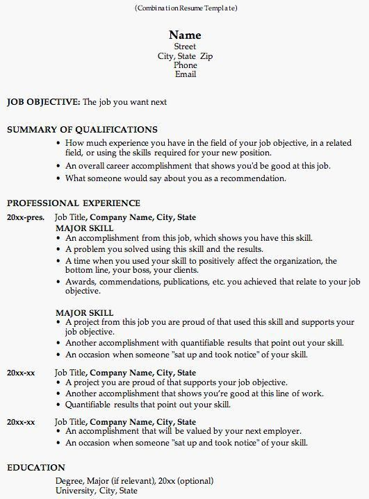 57 best Resume Templates images on Pinterest | Resume templates ...