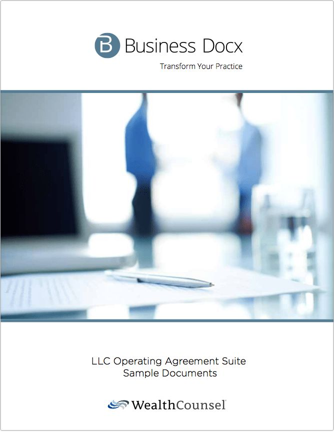 Download a sample LLC Operating Agreement by Business Docx