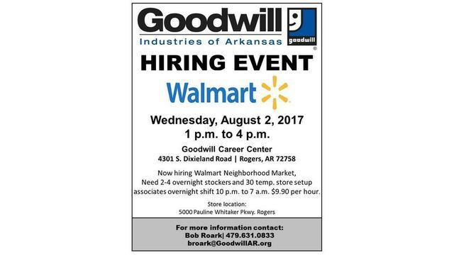 Walmart Hiring More Than 30 Associates - Story | NWAHomepage