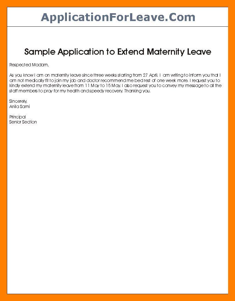 8+ leave extension letter | appeal leter