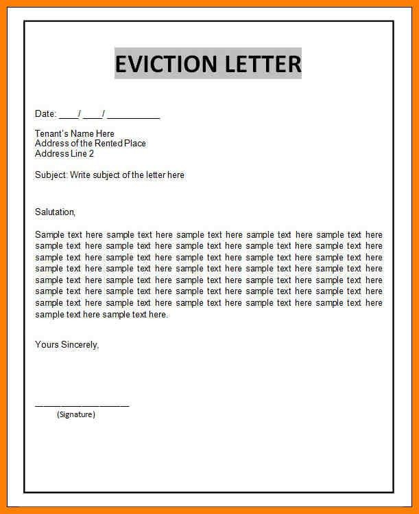 4+ free eviction notice templates   artist resumes