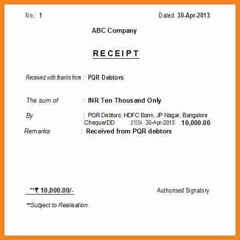 4+ cheque payment receipt format in word | driver-resume