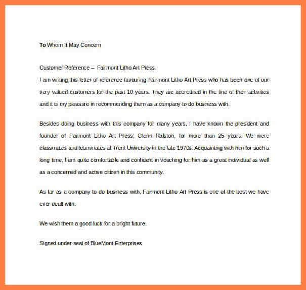 5+ business recommendation letter for a company | Company Letterhead