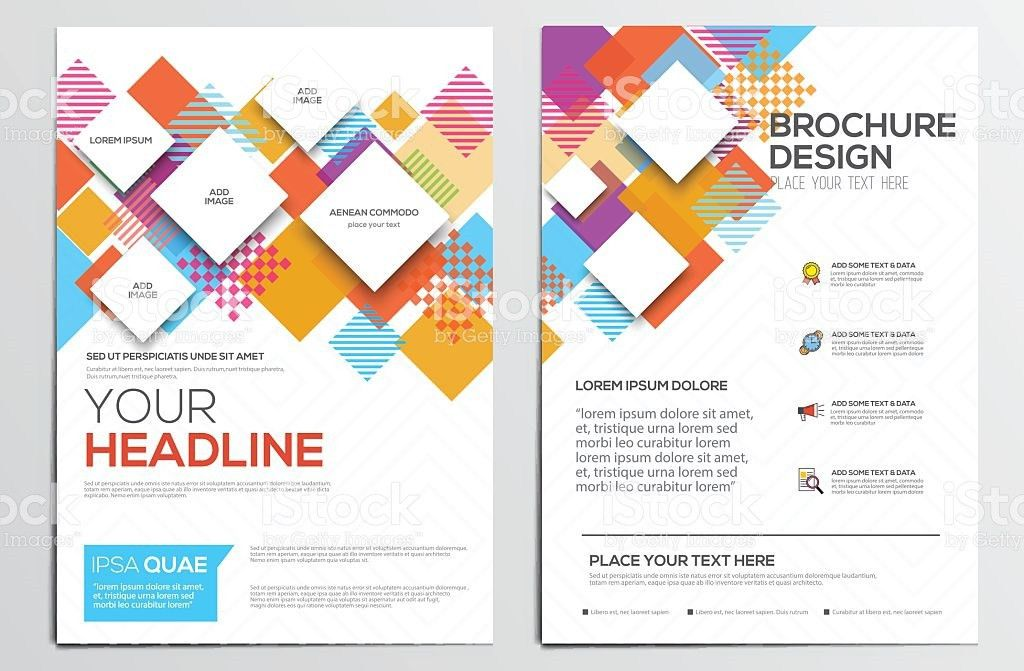 Brochure Design Template stock vector art 481151612 | iStock