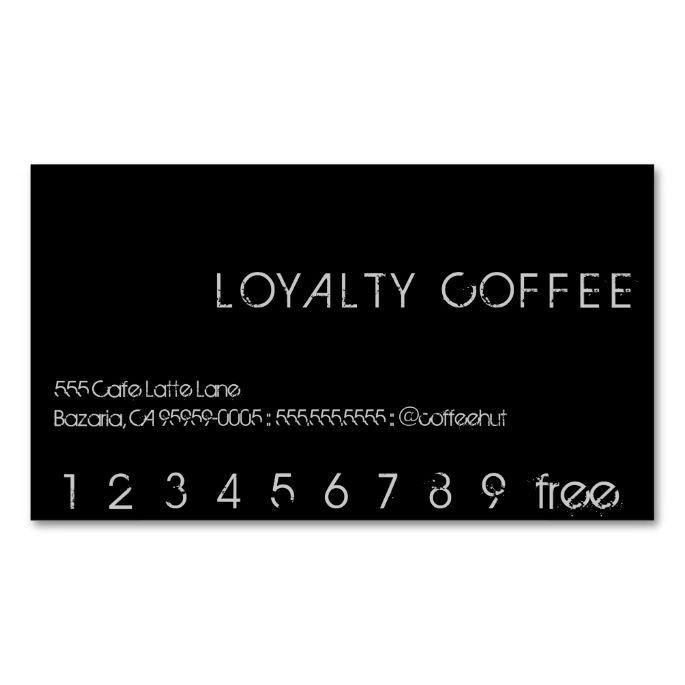 1570 best Customer Loyalty Card Templates images on Pinterest ...